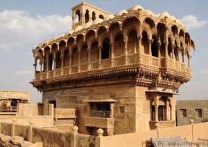 Salim Singh ki Haveli : Jaisalmer