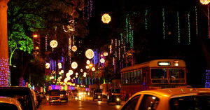 City Scape: Mumbai – New year celebrations & decorations at Hiranandani Powai
