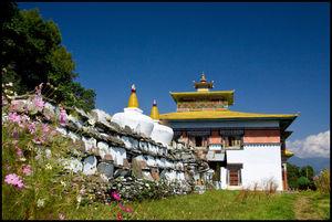 Tashiding Monastery 1/2 by Tripoto