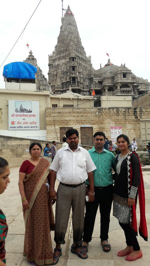 Trip to Dwarikadhish .. either be logical or religious..