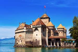 Castle of Chillon 1/2 by Tripoto