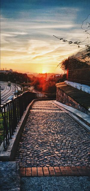Beautiful mornings of Warsaw