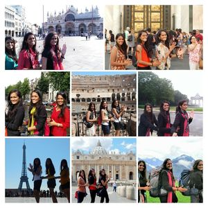 EuroTrippin' 3 Sisters. Europe. Backpacking. Shoestring Budget. 15 Days. 6 Countries. Epic Memories!