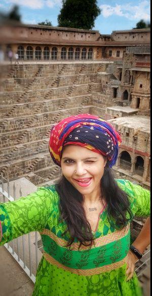 Oye..chori..tu ghani futri lagri chai.. #SelfieWithAView #TripotoCommunity