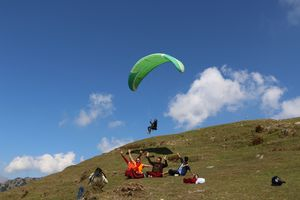 The Paragliding Capital of India. Adventures of Bir and Billing.