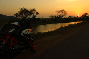 Hyderabad-Kanyakumari-Hyderabad on two wheels