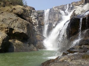 Dasam Falls:10 falls intersecting each other
