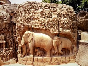 Mahabalipuram - Where culture also meets Fish fry !