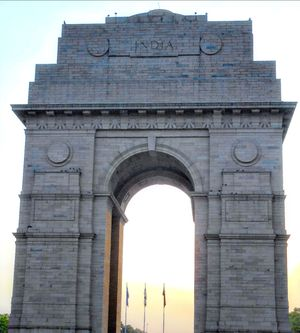India Gate, Best family picnic destination at Night