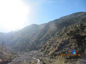 Trek to Prashar lake enroute Kasol