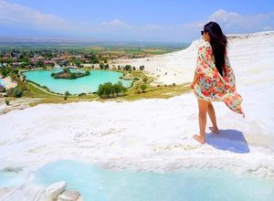 "Pamukkale – ""The Cotton Castle of Turkey"""