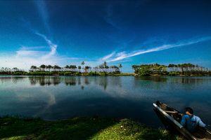 Natural beauty of Varkala (beach, backwater) unexplored