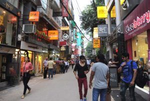 A day in Hauz Khas Village