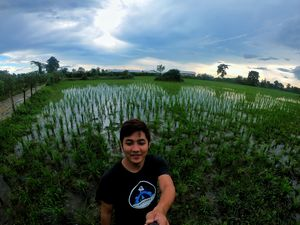 Paddy field  #Suburblife.... #SelfieWithAView #TripotoCommunity