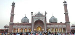 An evening in Jama Masjid, Delhi!!