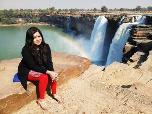 Chitrakoot Falls..The Niagra of India.