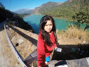 When the colour of the Teesta river is so beautiful.???? #SelfieWithAView #TripotoCommunity
