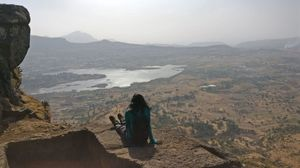 Secret stairs, monkeys and amazing views at this fort near Nashik! #offbeatplace