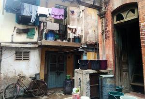Walk through many doorways in India.