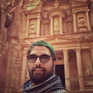 #Petra is amazing place. Can't find better selfie for #SelfieWithAView contest by tripotocommunity