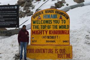 A Dream Road Trip: Chennai - Leh-Ladakh