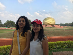 Trip to Auroville & Pondicherry!