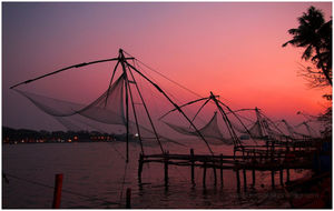 Chinese Fishing Nets 1/4 by Tripoto