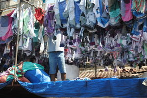 Dhobi ghat - A lesson of harmony - Backpack with Prat