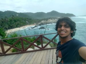 #SelfieWithAView #TripotoCommunity # half way across the world # pearl of carribean#