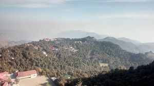 Cliff trek nainital (Uttarakhand)