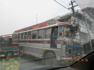 The Flamboyant Buses of Kashmir