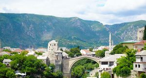 Back in time - Mostar in Bosnia and Herzegovina