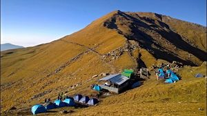 Roopkund is a high altitude glacial lake in the Uttarakhand state of India.