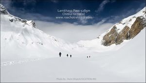 Lamkhaga pass trek ~   The Himalayan Adventure Saga