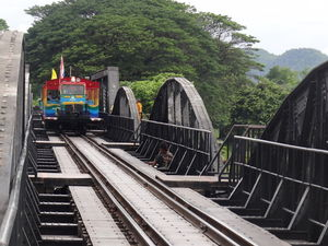 Bridge Over The River Kwae Na Suan Kanchanaburi Thailand 1/undefined by Tripoto