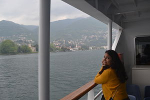A Dramatic Scenery....Lake Como!!