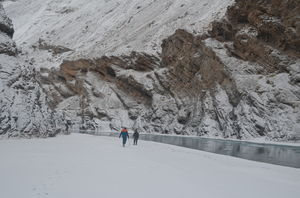 Chadar trek...Reliving the moments