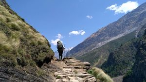 Milam Glacier Trek: A solo walk to the upper Himalayas in Johar valley.