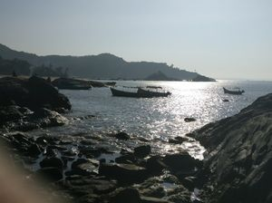 Getting here is half the fun... Beach please .. Gokarna.