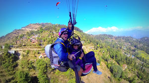 Paragliding in Nepal: On Cloud 9 Literally