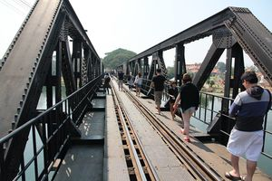 The Bridge of the River Kwai Tha Ma Kham Kanchanaburi Thailand 1/undefined by Tripoto