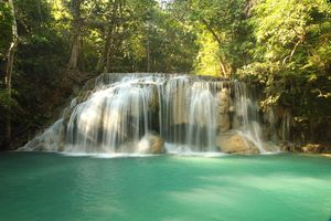 Erawan Nationalpark Tha Kradan Kanchanaburi Thailand 1/undefined by Tripoto