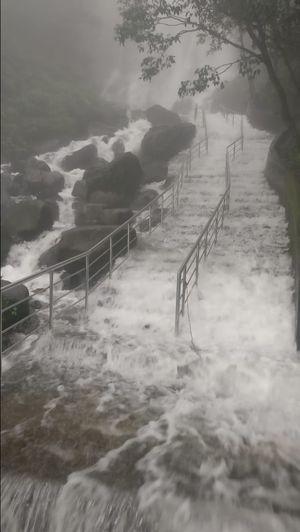 Majestic Amboli Ghat Waterfall enroute to GOA.