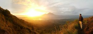 Bali : Hike to the Active Volcano , Mt. Batur