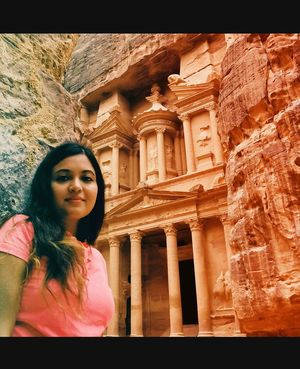 Magical land of mysteries - magnificent and fascinating Petra #selfiewithaview #tripotocommunity