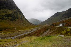 Wilderness of Scotland without Car