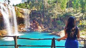 Krang Suri Waterfall In Meghalaya Is India's Answer To Cebu's Kawasan Falls