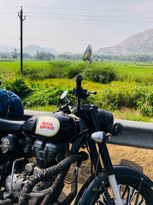 Solo Ride From South To Notth