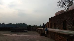 Rajmahal - Baradari , a Mughal time monument in Jharkhand on the bank of Ganges