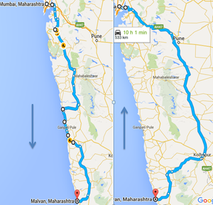 Mumbai Goa Highway 1/1 by Tripoto